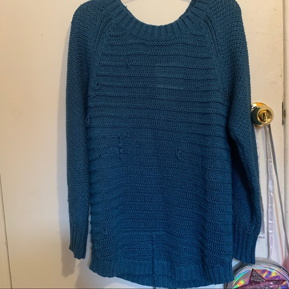 Calvin Klein Jeans Ripped Sweater New with tag